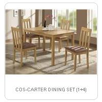 COS-CARTER DINING SET (1+4)